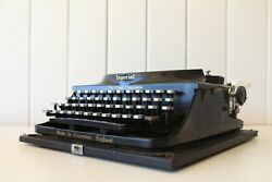 Antique Imperial Typewriter - A Good Companion - Made In England - Working