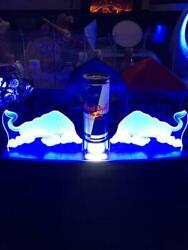 Red Bull Promotional Electric Display Super Rare Bottle Display Collection F/s