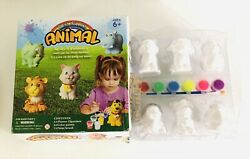 Hilou Paint Your Own Animal Figurines Birdcatdogfish And Tortoise Box Damage