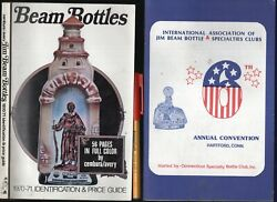 2-for-1 Jim Beam Bottles 1970-71 Price Guide 157 Pages + Bonus Annual Convention