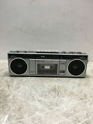 Sears Am/fm Stereo Radio Cassette Recorder Boombox 564.21041350 Used For Repair