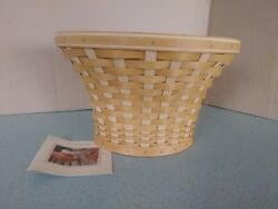 Longaberger At Home Garden Wall Vase Basket With Protector New