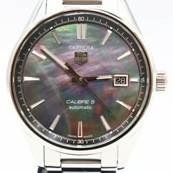 Free Shipping Pre-owned Tag Heuer Carrera Caliber 5 War211f Japan Limited