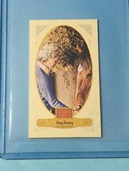 Penny Chenery 2012 Panini Golden Age Broad Leaf Mini Brown Back 107