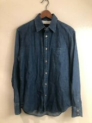 Rag And Bone New York Fit 3 Denim Button-front Shirt Size S - Great Condition