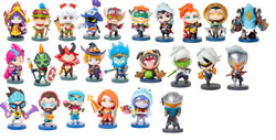 League Of Legends Lol Authentic Team Minis Figures New Sold Individually