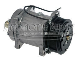 A/c Compressor W/clutch For Freightliner Caterpillar And Kenworth - New