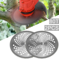 10and039and039 40teeth Saw Blade Carbide Tipped Metal Cutting Disc Brush Cutter Trimmer