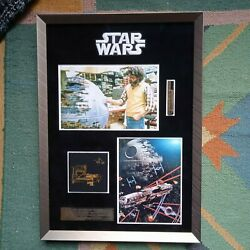 Star Wars Return Of The Jedi Screen Used Props 3 Death Star Sections W/coa