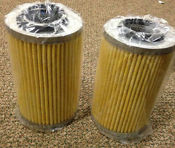 Oil Filter Replacement Set Of 2 Part 121015 Quincy Air Compressor New