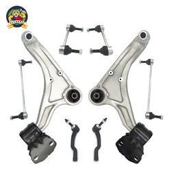 For 13 - 16 Ford Fusion Lincoln Mkz Front Lower Control Arms + Tierods Sway Bars