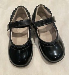 Black See Kai Run Mary Jane Patent Leather Girls Shoes Size 11 With Tags $14.99