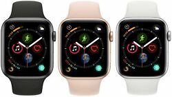 Apple Watch Series 4 40mm 44mm Gps + Wifi + Cellular Smart Watch All Colors