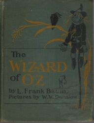 The Wizard Of Oz-l.frank Baum-1903-illustrated By W.w.denslow-collectible Book