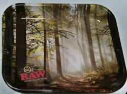 Raw Magnetic Ashtray + Raw Metal Stash Tin + Raw Forest Rolling Tray Large