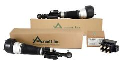 Arnott Reman Front Air Struts And Solenoid Valve Kit For W221 C216 4matic Airmatic