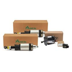 Arnott Front Air Struts And Compressor And Solenoid Kit For Allroad Quattro 01-05