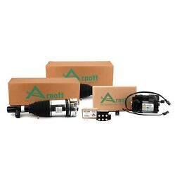 Arnott Front Air Strut Compressor And Valve Unit Kit For Volvo Xc90 Gas Auto Level