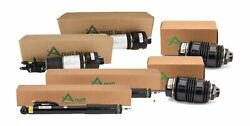 Arnott Front Air Struts And Rear Reman Shocks New Springs Kit For Benz W211 W219