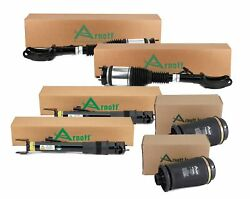 Arnott Front Air Struts And Rear Reman Shocks New Springs Kit For Benz W166 X166