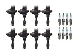 Denso 8 Ignition Coils And 8 Iridium Power Spark Plugs .044 Kit For Infiniti 4.1l