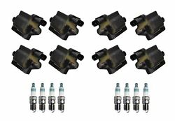 Denso 8 Ignition Coils And 8 Iridium Power Spark Plugs 0.044 Kit For Chevy Gmc V8
