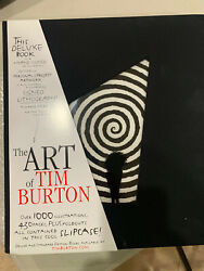 The Art Of Tim Burton Deluxe Edtition, Missing Signed Lithograph