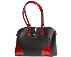Lux De Ville Wicked Tote Red Rum Sparkle $98.00