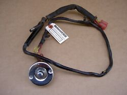 71-73 Ford Mustang And Cougar Power Seat Switch And Bezel, D1zz-14a701-a, Excellent
