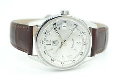 Tag Heuer Carrera Wv2112 Stainless Steel Leather Menand039s Automatic Watch