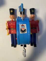 Vintage Toyland Parade Battery Operated Marching Soldier Toy W/ Box Parts Repair