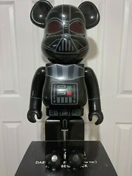 Bearbrick Star Wars Darth Vader Roque One Version 1000 Black Ships From Usa
