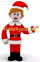 35' Foot Kris Kringle Santa Claus Is Comin' To Town Custom Made Inflatable
