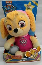 Paw Patrol, Snuggle Up Skye Plush With Flashlight And Sounds, For Kids Aged 3...