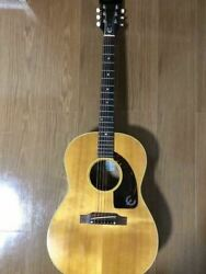 Epiphone Ft45 Cortez 1967 Natural Acoustic Guitar With Hard Case Japan Shipped