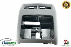 13-15 Cadillac Ats Floor Center Console Rear End Panel Cover Air Vent Trim Oem