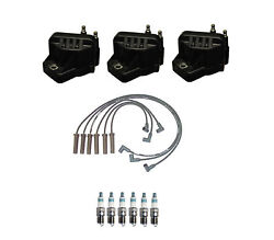 Denso 3 Ignition Coil Wire Set 6 Iridium Power Spark Plugs Kit For 3.1 3.4 V6