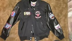 Jeff Hamilton Chicago Bulls Jacket-limited Edition-90and039s Fashion-size L-champions