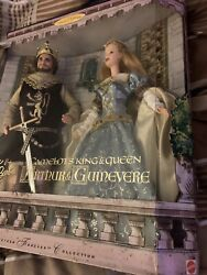 Ken And Barbie Doll As Camelot's King And Queen Arthur And Guinevere 1999 Nrfb
