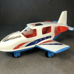 Vintage 1960's Gay Toys Inc. Eagle 1 Airplane Toy 11 Plastic