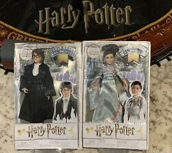 Nib Collectible Harry Potter And Cho Chang Yule Ball Dolls Mattel Figures
