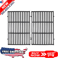 Cast Iron Cooking Grid Grates For Weber Genesis E-310 E-330 19.5 Inches 2 Pack