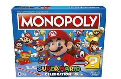 Super Mario Celebration Monopoly Game New Sealed Fast Shipping