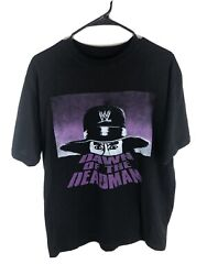 Official Wwe Undertaker Dawn Of The Deadman T Shirt Size Large 2013 Rare