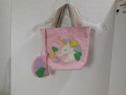 Vintage quot;I LOVE You 1993 TOTE BAG Canvas Pink to use with My Little Pony $3.00