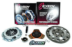 Exedy Racing Stage 2 Thin Clutch Kitandchromoly Flywheel For Rsx Tsx Accord Civic