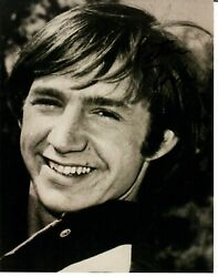 Early The Monkees Peter Tork Hand Signed 8x10 Bandw Photo Autograph World Coa