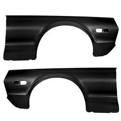 19671968 Cougar Fender Panel Pair Right And Left Side Edp Coated Steel Dynacorn