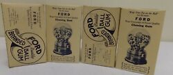 Ford Gumball Box. Empty Lot Of 4