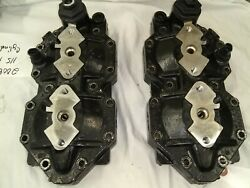 Used Brp E-tec 115 2009 Cylinder Heads Pair 5006257 And 5006451
